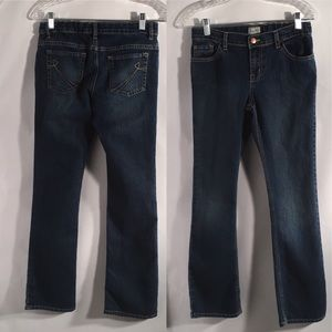 1989 Place Girls Jeans Size 14 Bootcut Stretch